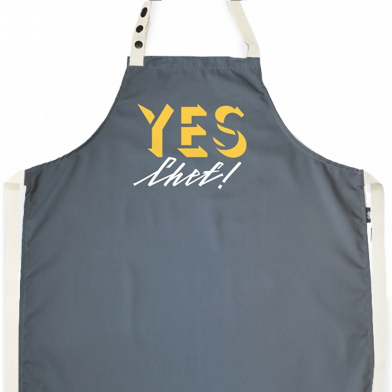 Фартух Yes, chef! Grey